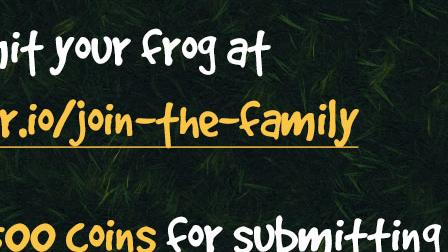 Frogar.io, Join The Family